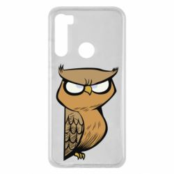 Чехол для Xiaomi Redmi Note 8 Angry owl