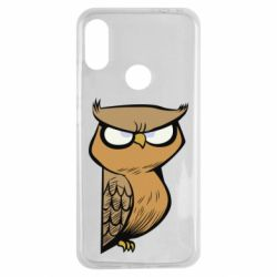 Чехол для Xiaomi Redmi Note 7 Angry owl