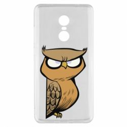 Чехол для Xiaomi Redmi Note 4x Angry owl