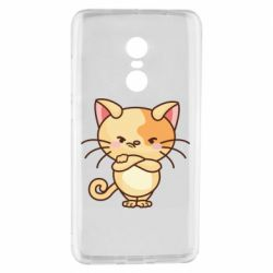 Чехол для Xiaomi Redmi Note 4 Angry red cat