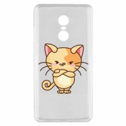 Чехол для Xiaomi Redmi Note 4x Angry red cat