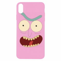 Чехол для iPhone Xs Max Angry Rick