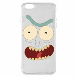 Чехол для iPhone 6 Plus/6S Plus Angry Rick