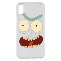 Чехол для iPhone X/Xs Angry Rick