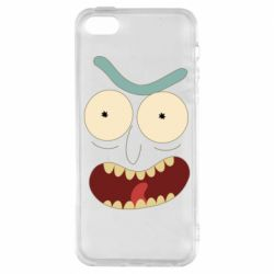 Чехол для iPhone5/5S/SE Angry Rick