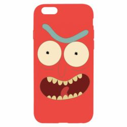Чехол для iPhone 6/6S Angry Rick
