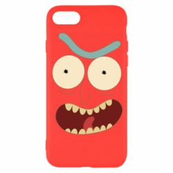 Чехол для iPhone 8 Angry Rick