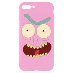 Чехол для iPhone 8 Plus Angry Rick