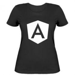 Жіноча футболка Аngular