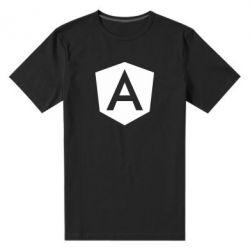 Чоловіча стрейчева футболка Аngular