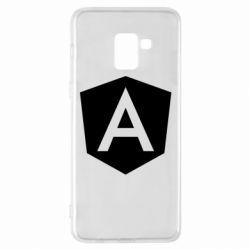 Чохол для Samsung A8+ 2018 Аngular