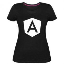 Жіноча стрейчева футболка Аngular