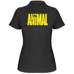Женская футболка поло Animal Gym - FatLine