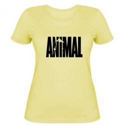 Женская футболка Animal Gym - FatLine