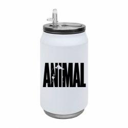 Термобанка 350ml Animal Gym
