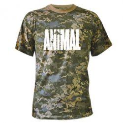 Камуфляжная футболка Animal Gym - FatLine