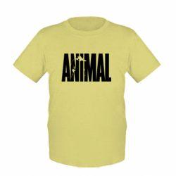 Детская футболка Animal Gym - FatLine