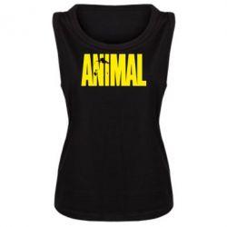Женская майка Animal Logo - FatLine