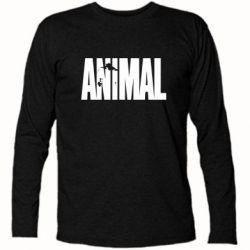 Футболка с длинным рукавом Animal Logo - FatLine