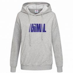 Женская толстовка Animal Logo - FatLine