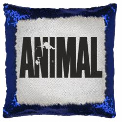 Подушка-хамелеон Animal Logo