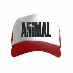 Детская кепка-тракер Animal Logo