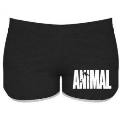 Женские шорты Animal Logo - FatLine