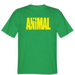 Мужская футболка Animal Logo - FatLine