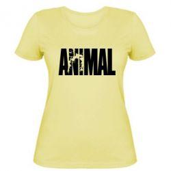 Женская футболка Animal Powerlifting - FatLine