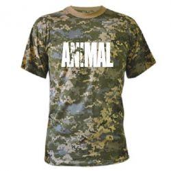 Камуфляжная футболка Animal Powerlifting - FatLine