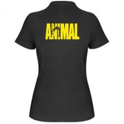 Женская футболка поло Animal Powerlifting - FatLine