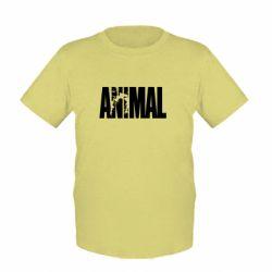 Детская футболка Animal Powerlifting - FatLine