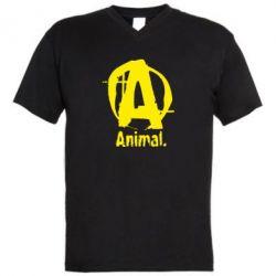 Мужская футболка  с V-образным вырезом Animal - FatLine