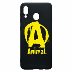 Чохол для Samsung A20 Animal
