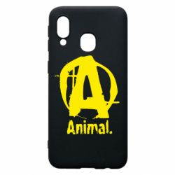 Чохол для Samsung A40 Animal