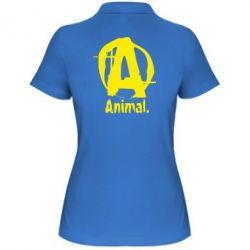 Женская футболка поло Animal - FatLine