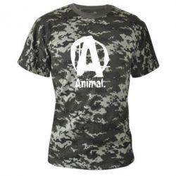 Камуфляжная футболка Animal - FatLine