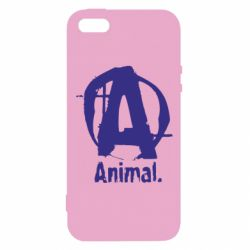 Чохол для iphone 5/5S/SE Animal