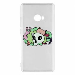Чехол для Xiaomi Mi Note 2 Animals and skull in the bushes