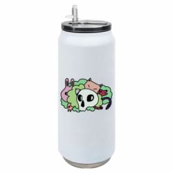 Термобанка 500ml Animals and skull in the bushes