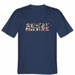 Чоловіча футболка Anime characters
