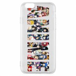 Чохол для iPhone 6/6S Anime characters