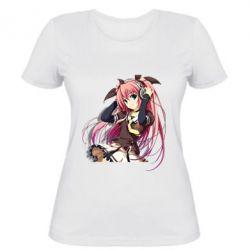 Женская футболка Anime Girl 6