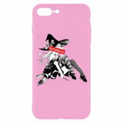 Чехол для iPhone 7 Plus Anime girl Halloween