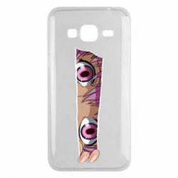Чохол для Samsung J3 2016 Anime girl peeping