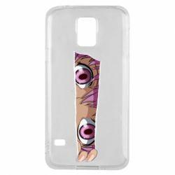 Чохол для Samsung S5 Anime girl peeping