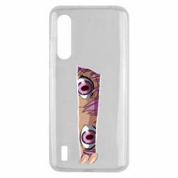 Чохол для Xiaomi Mi9 Lite Anime girl peeping