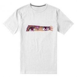 Чоловіча стрейчева футболка Anime girl peeping