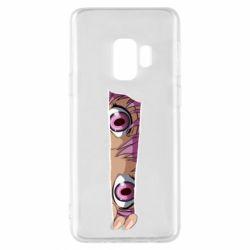 Чохол для Samsung S9 Anime girl peeping