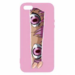 Чохол для iphone 5/5S/SE Anime girl peeping